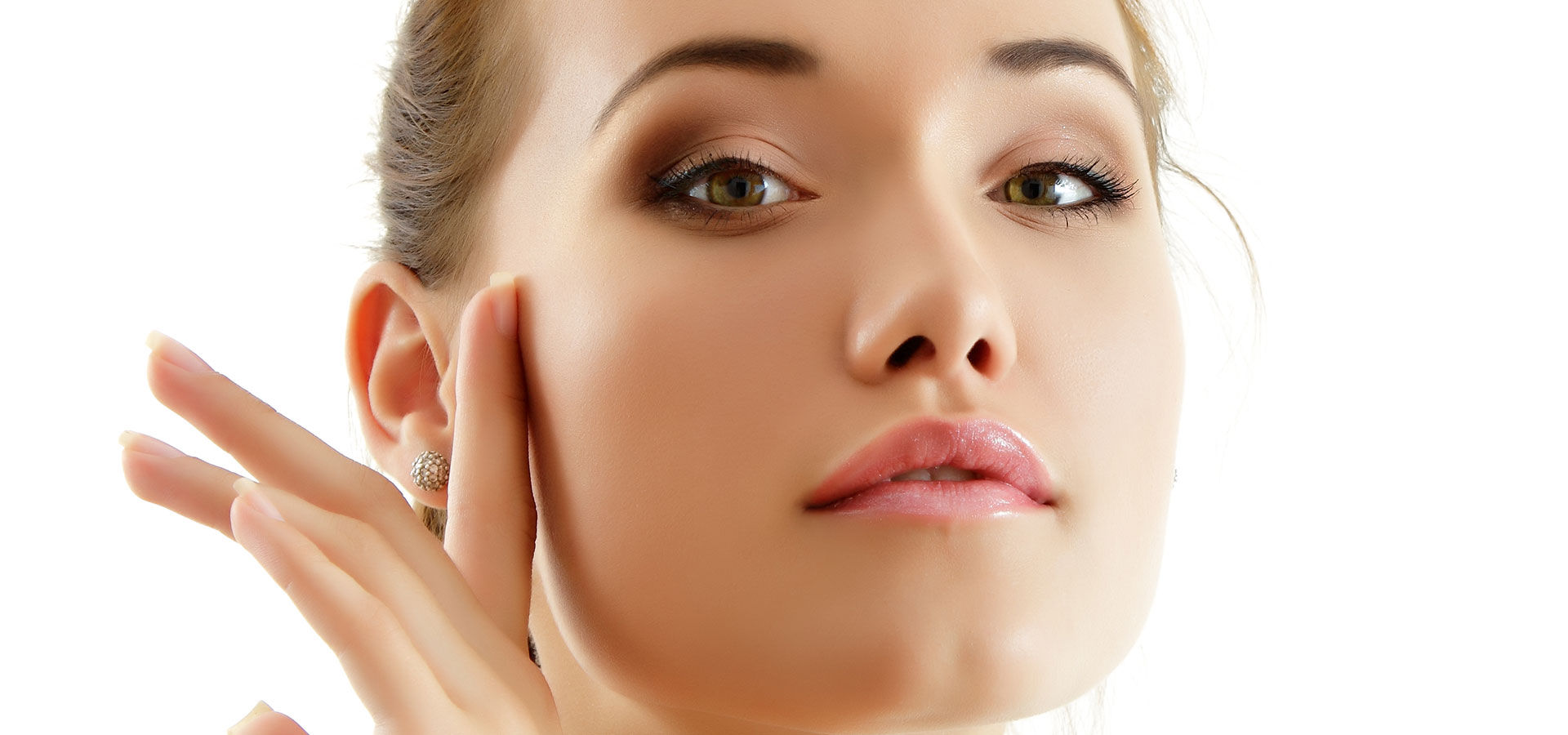 womans face after Brown Spot Reduction Chemical Peels