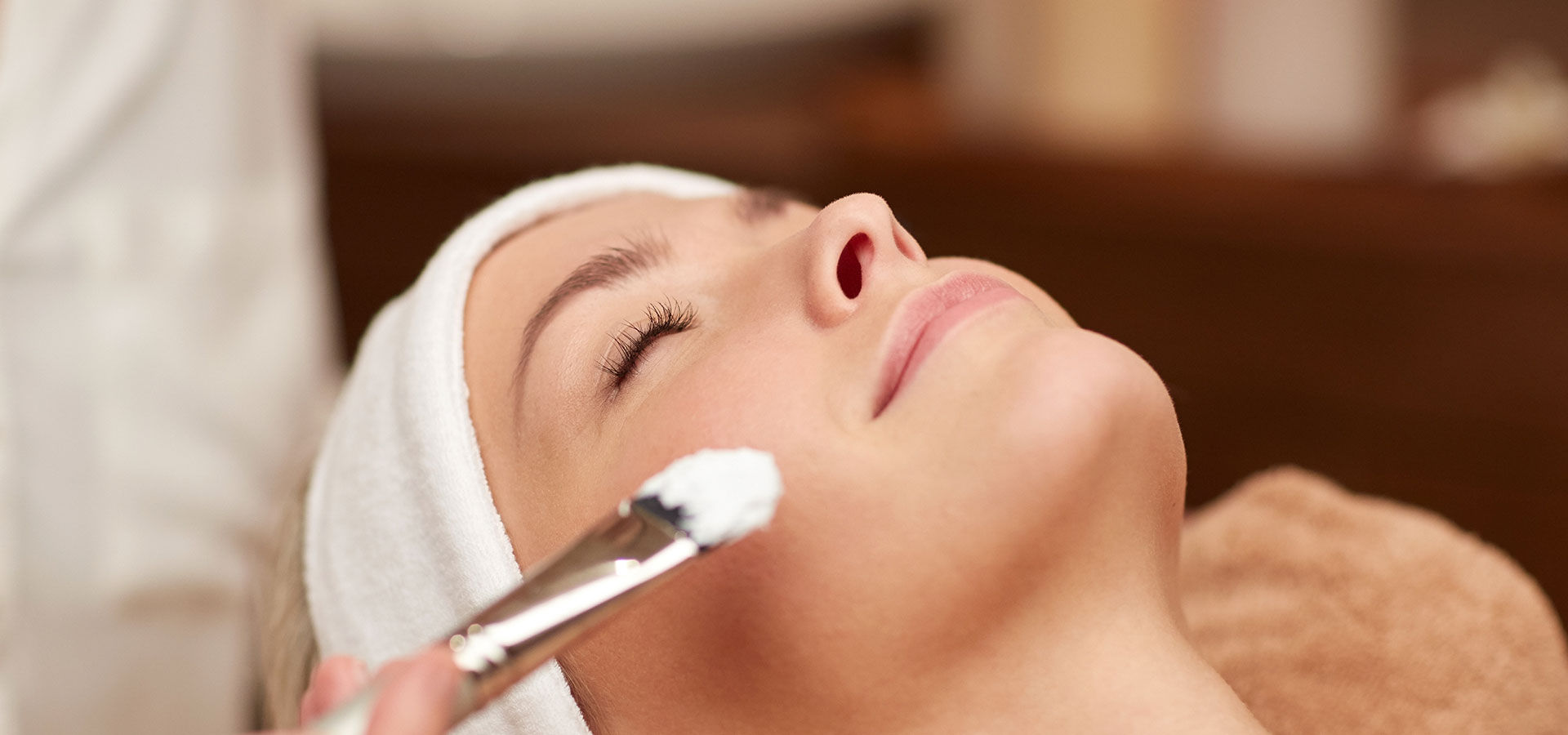 woman during a Medium Depth Chemical Peel