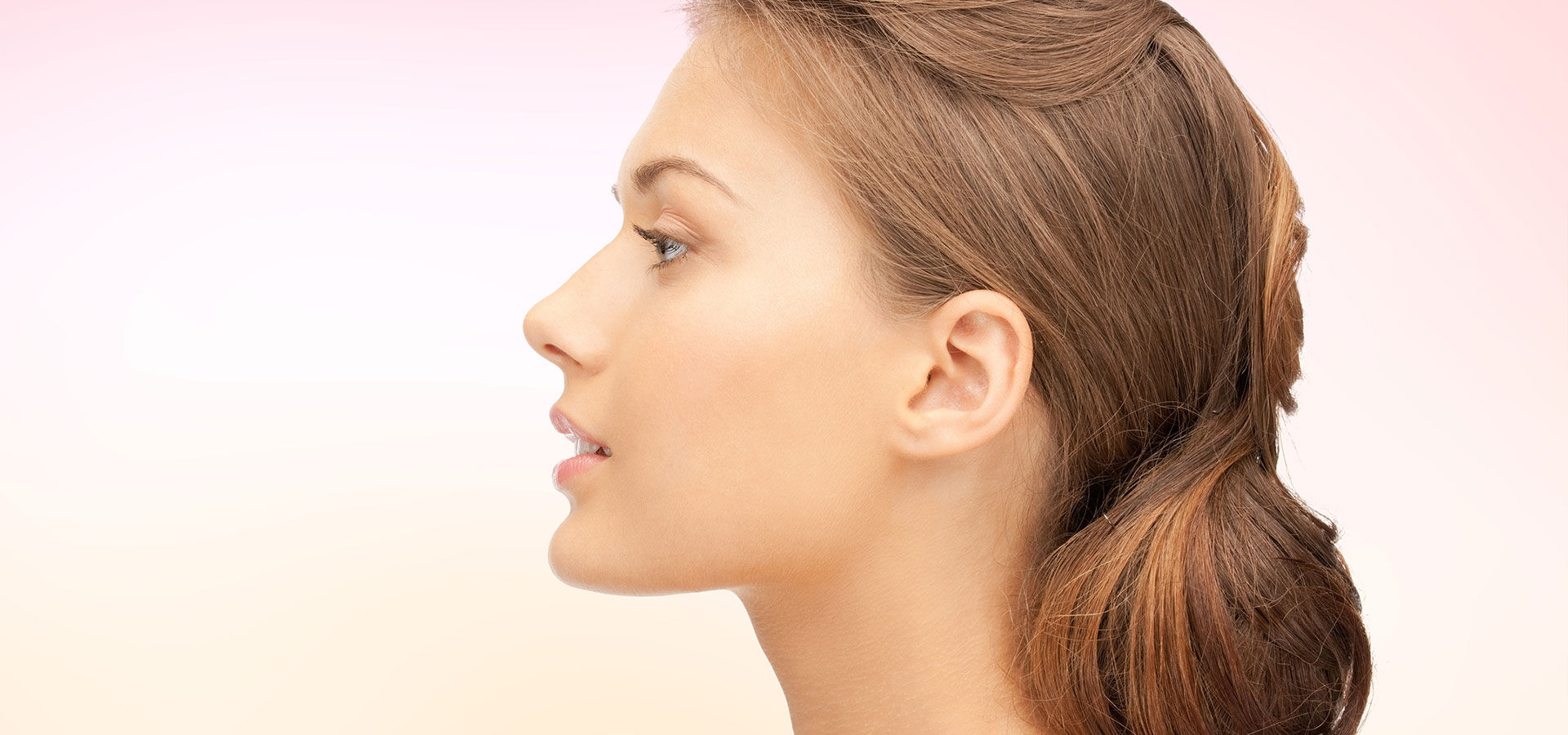 woman after a Tip of Nose Lift