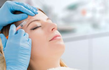Woman Receiving Botox Injections Atlanta, GA
