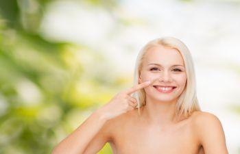 Woman WIth Beautiful Skin Atlanta, GA